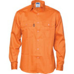 Patron Saint® Flame Retardant Drill Shirt, Long Sleeve