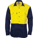 Patron Saint® Flame Retardant Two Tone Drill Shirt - L/S