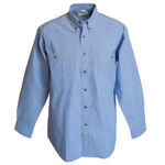Cotton Chambray Shirt (LS)