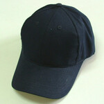heavy brushed cotton cap / velcro strap