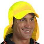 HiVis Cap with Flap