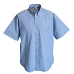 Chambray Shirts (brown stitch) short sleeve