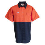Light weight HiVis Cotton Drill Shirt (SS)