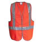 HiVis Safety Vest with Tape (H-Pattern)