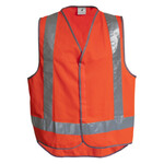 HiVis Safety Vest with Tail CLEARANCE (Limited Sizes)