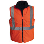 HiVis Reversible Vest with Tape